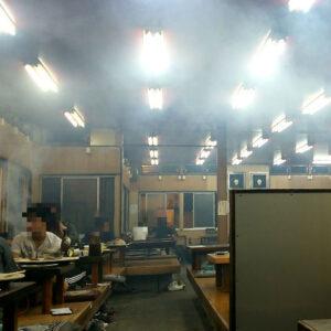 昭和を感じさせる深井の大衆焼肉屋『味楽』に行ってきました!煙がヤバすぎておしゃれな服装厳禁のお店はスープもお勧め!