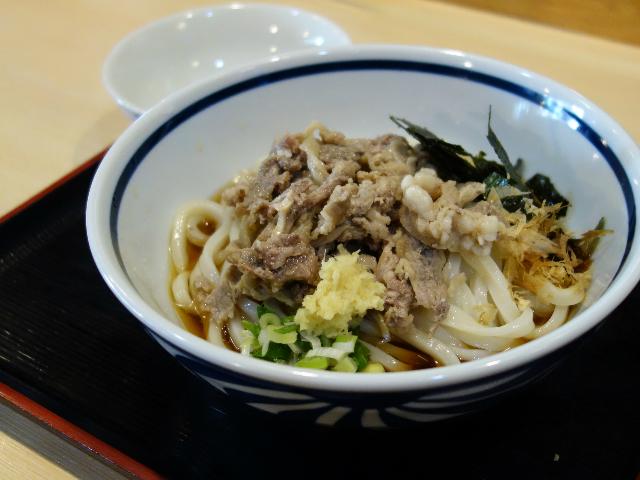 肉ぶっかけうどん(850円)