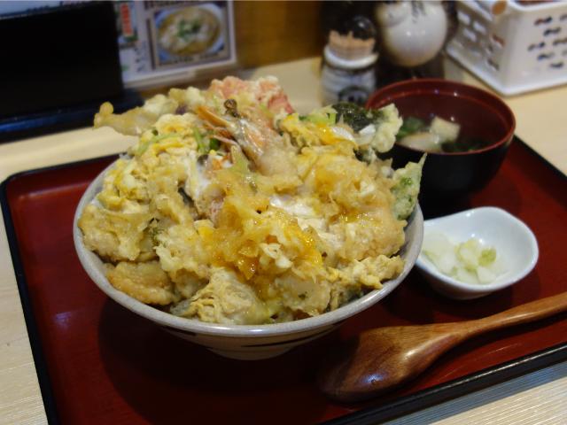 天とじ丼(1,200円)