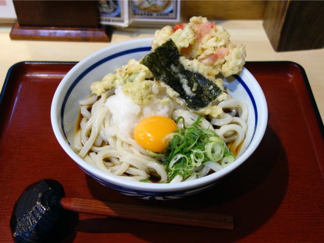 おろしぶっかけうどん(750円)