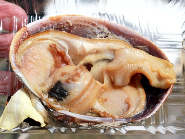 大貝の酒蒸し
