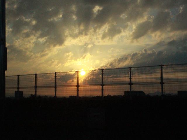 朝5時に大阪を出発