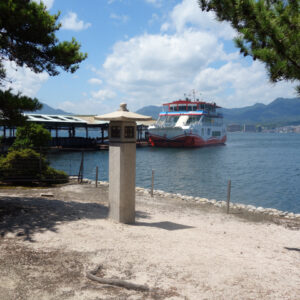 ポスターで使う写真を撮影しに日本三景のひとつ広島県廿日市市の観光スポット宮島に行ってきた話
