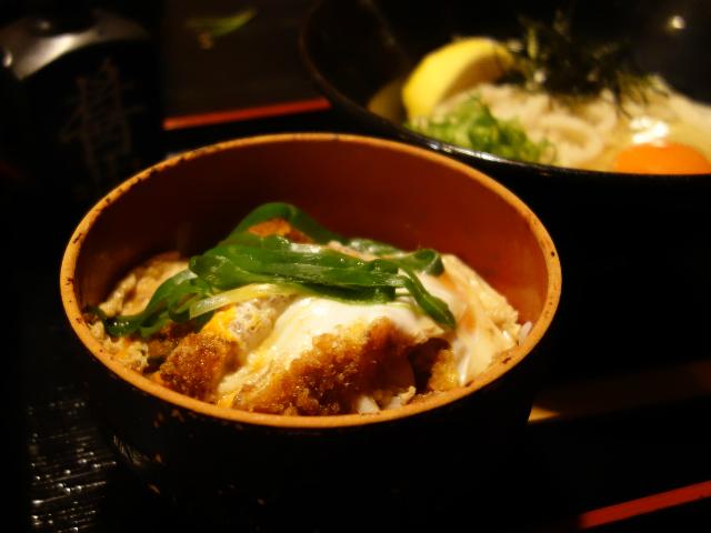 ミニカツ丼(480円)