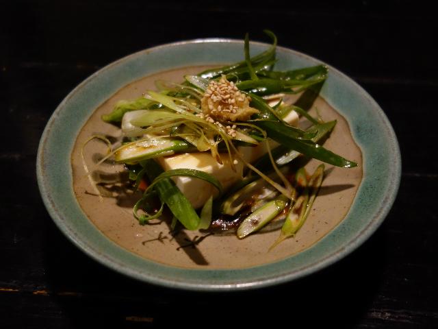 ねぎバカ豆腐(380円)
