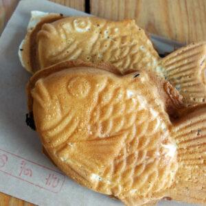 大阪府堺市の深井にあるたい焼き『鯛幸堂』は注文を受けてから焼き始めるのでいつでも出来たてアツアツのたい焼きが食べられるぞ!