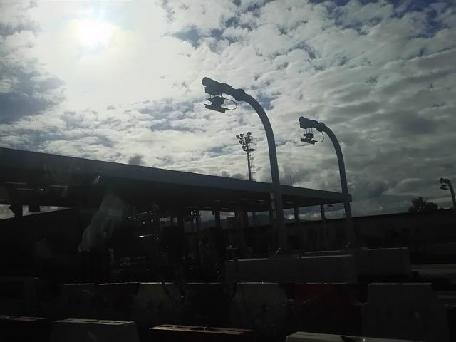 滋賀から大阪への帰り道