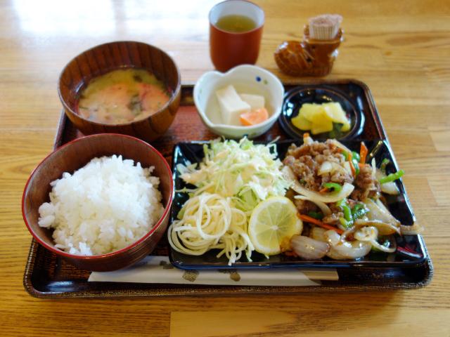 喫茶デミタスのおすすめランチ(680円)11:00~14:00