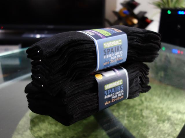 men's uno(メンズウーノ) ビジネスソックス10足セット メンズ 黒・黒