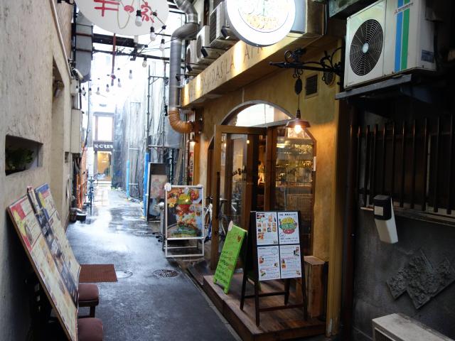 VEGAN BURG Kitchen店舗外観(大阪府堺市堺区北瓦町2-1-33)