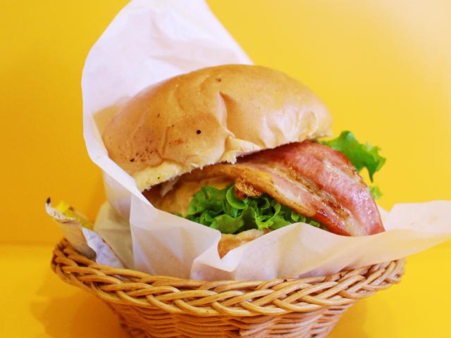 ビッグベリーマンのこだわりハンバーガー