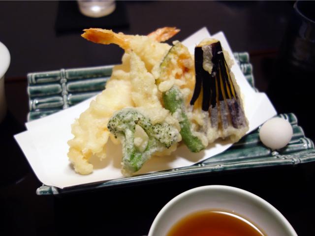 天婦羅御膳(1,800円)