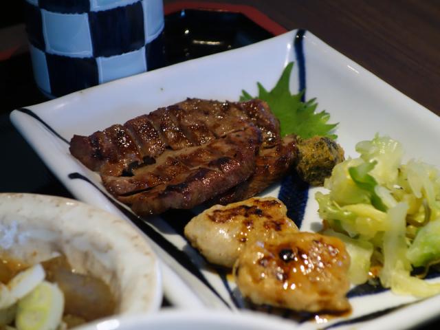 牛たんづくし定食(1,550円)