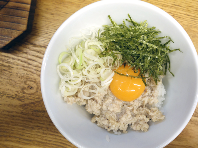 鶏塩丼(310円)