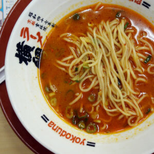 学生時代に良く食べてた『ラーメン横綱』に久しぶりに行ってきました!豚骨醤油のスープはたまに無性に食べたくなる味!