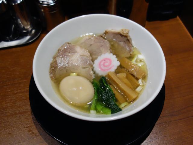 特製中華そば(塩)(1,050円)