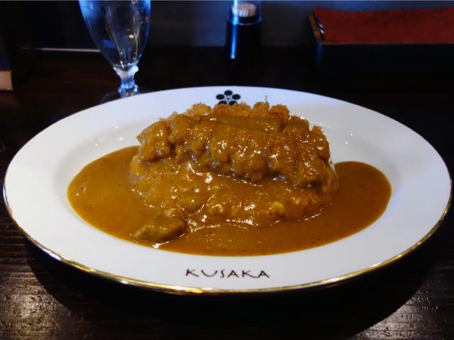 和牛カレー+ポークカツ(1,170円)