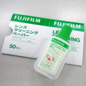 カメラのレンズが汚れてきたので富士フィルムのレンズクリーニング用品を買って自分でお手入れしてみる