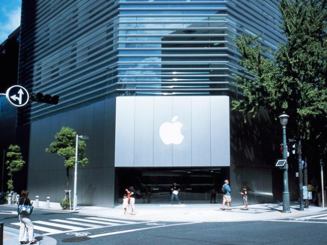 Apple Store 心斎橋外観