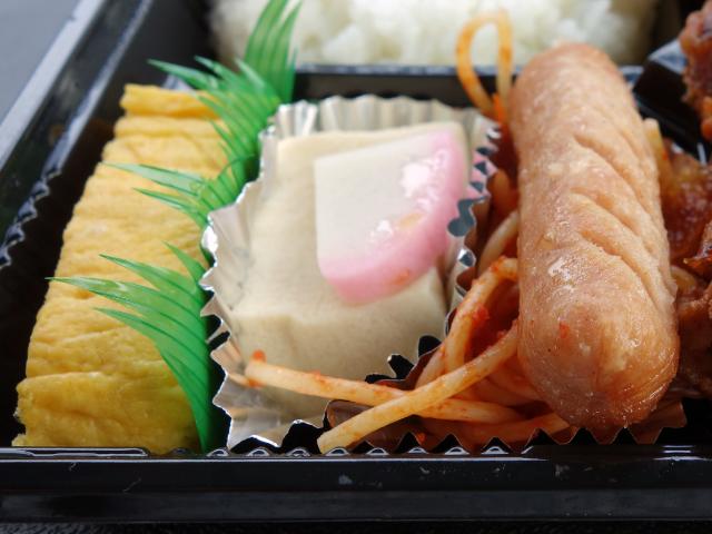 卵焼き・高野豆腐・ソーセージ