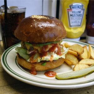 本場アメリカのハンバーガー専門店!深井の『nutmeg』で国産和牛100%のパティを使ったハンバーガーを食べてきました!