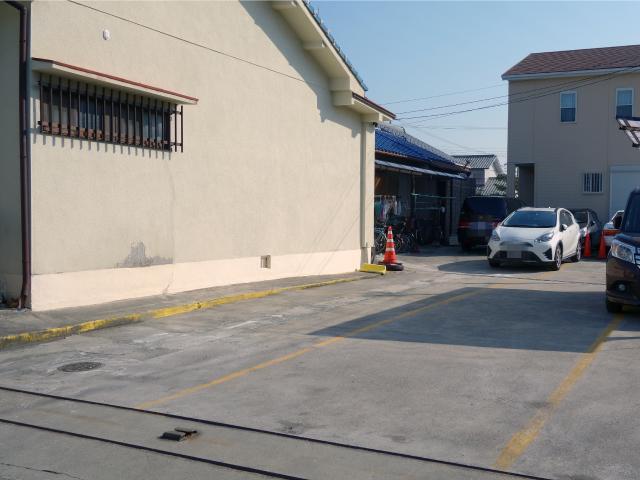 ぜにやの第1駐車場