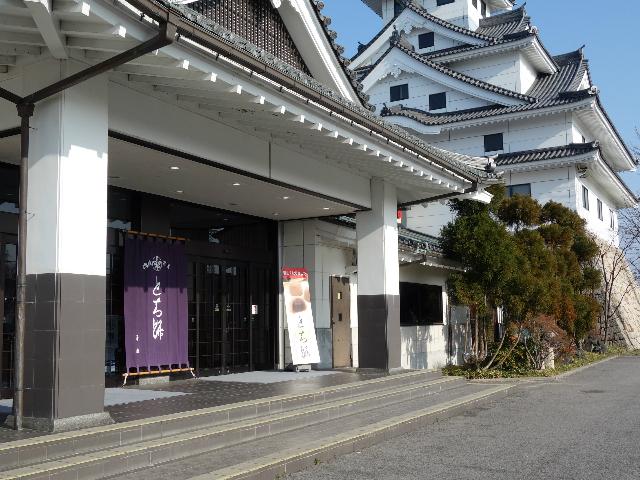 お菓子の壽城入り口