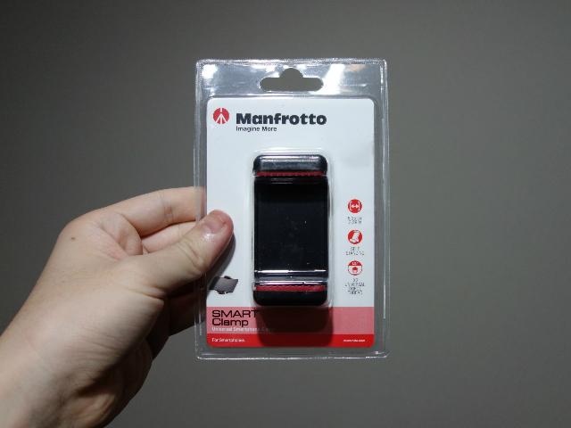 Manfrotto スマートフォン用三脚アダプター MCLAMP