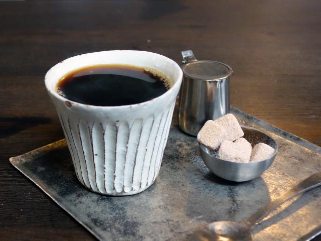 ホットコーヒー(450円)